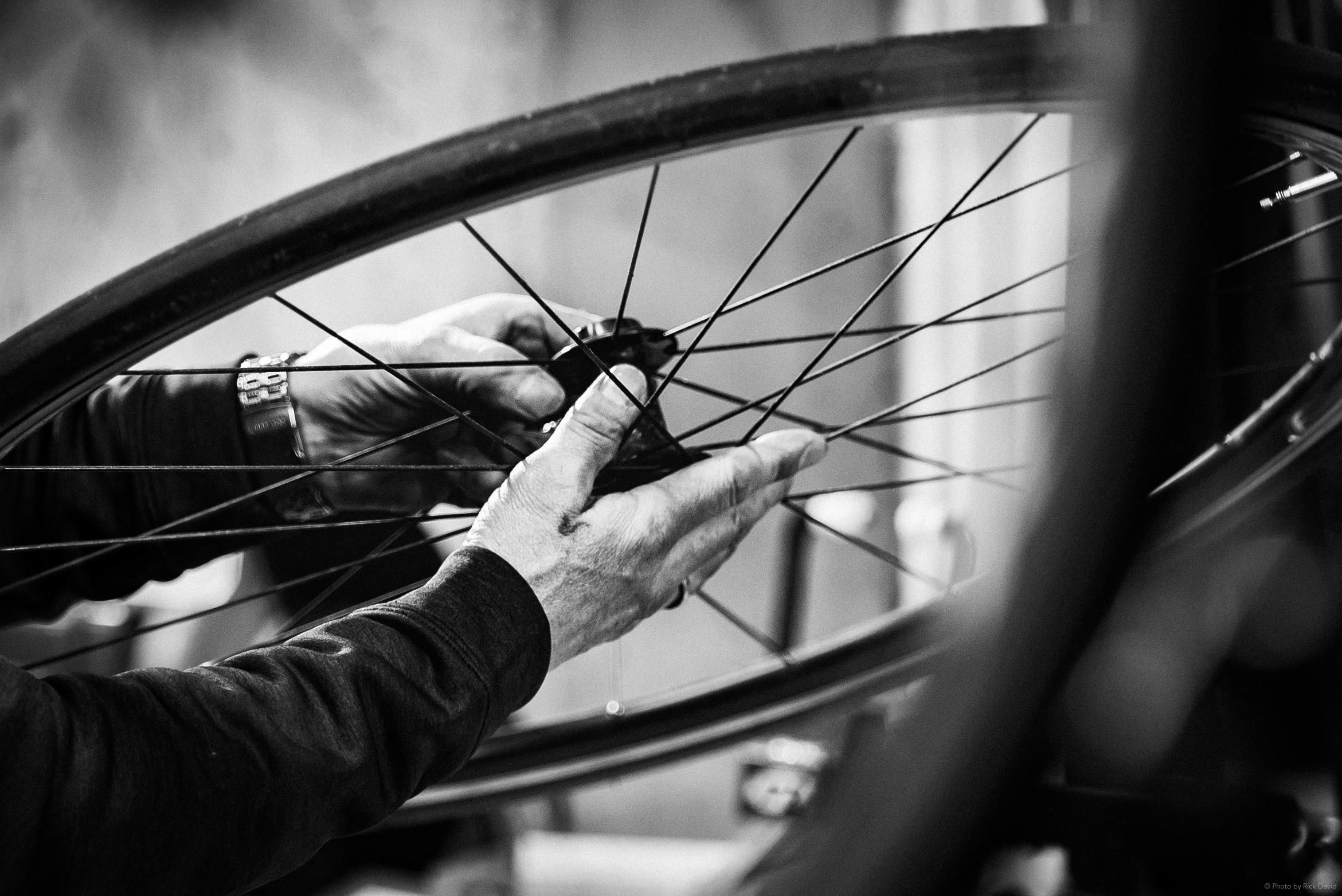 Gereedschap fiets